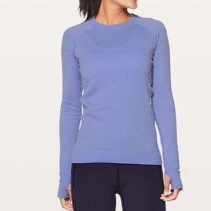 NWOT Lululemon Rest Less Pullover Hydrangea Sz 8